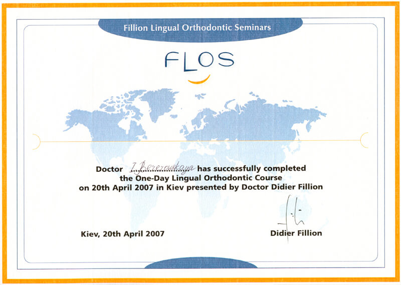 One-day Lingual Orthodontic course