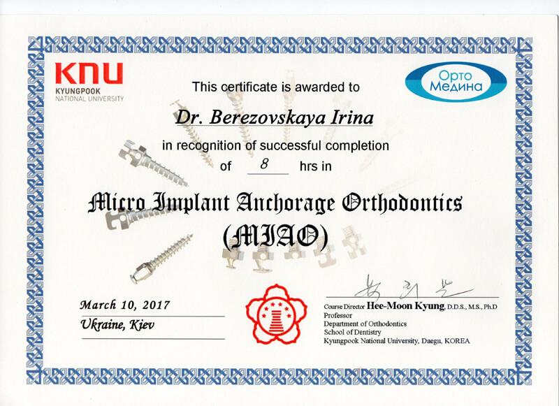 Micro Imlant anchorage orthodontic
